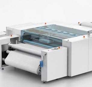 Mouvent 在2018 年ITM展览会上展示其突破性的 8 色数码纺织印花机TX801