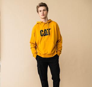 "CAT卡特:大黄靴工装范儿容易穿成""宅""?教你怎么变时尚!"