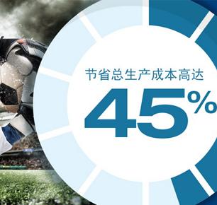 亨斯迈ERIOPON E3可促进聚酯纤维生产的可持续性,一年节约1.3亿公升水