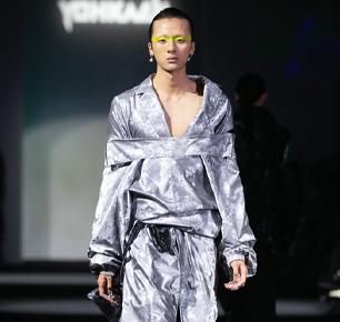"YohKaen2021FW上海时装周""ColourOut of Space""系列 —— 鬼马设计师的神秘乌托邦"