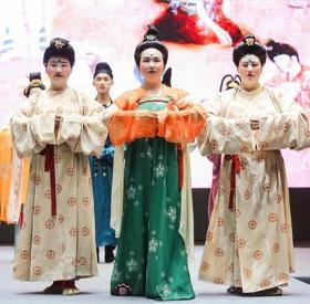 """第四届""""国丝汉服节-唐之雍容""""成功举办"""