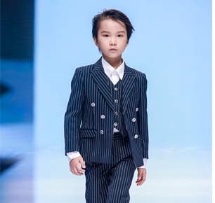 SKY-西装盛典专场秀登陆中国国际儿童时尚周