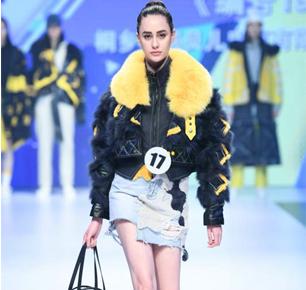 """第二十一届""""真皮标志杯""""中国国际皮革裘皮时装设计大赛决赛在浙江海宁举行"""