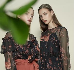 国际影星加持艾莱依春夏女装 风衣和连衣裙强单品市场走俏