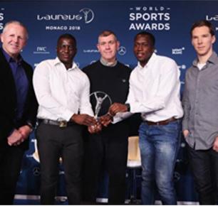 本尼迪克特·康伯巴奇宣布活跃社群组织荣获劳伦斯体育公益奖