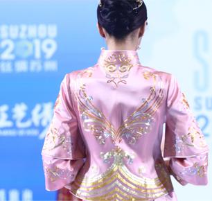 """最美人间四月天,""""丝绸苏州2019""""展秀场发布(下)"""