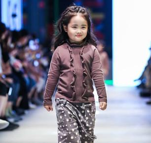 湖州德牌时尚演绎2018首届中国国际儿童时尚周