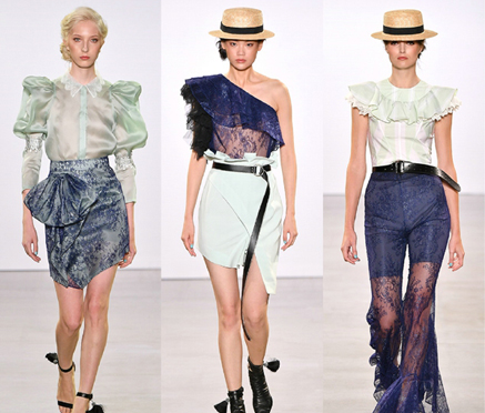 2020春夏纽约时装周TAORAY WANG:王陶让世界为高品