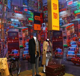 红帮精神,国服罗蒙强势登陆第二十二届宁波国际服装节