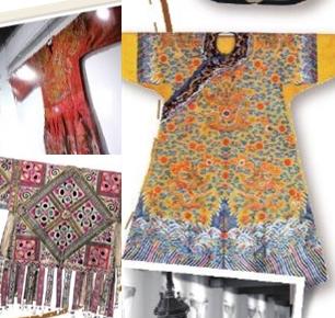传世精品穿越时空而来 蕾丝织绣奏响服饰乐章
